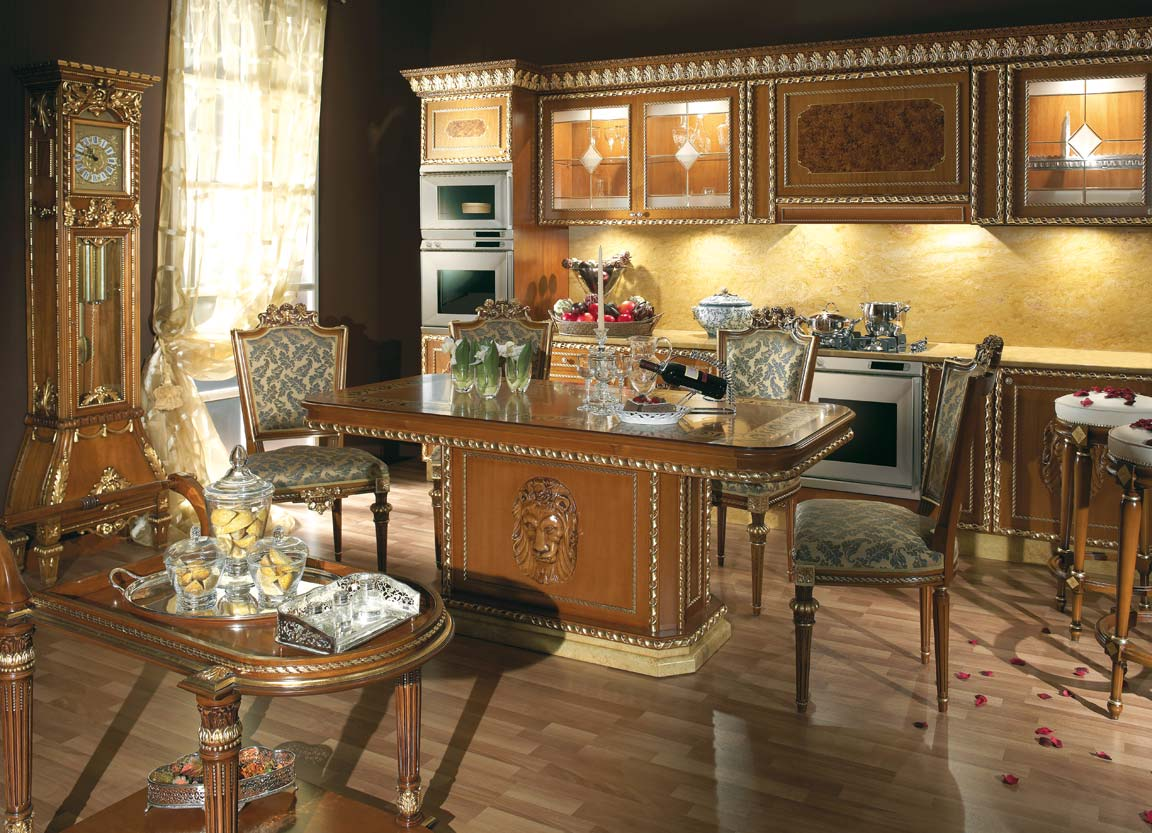 classical modern kitchen decorations   » Traditional style classic Italian kitchenTop and Best ...
